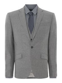 Kingsborough slim fit textured suit jacket