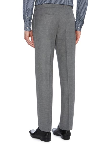 Kenneth Cole Kingsborough textured slim fit suit trousers