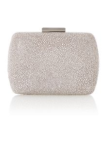 Gabrielle box clutch bag