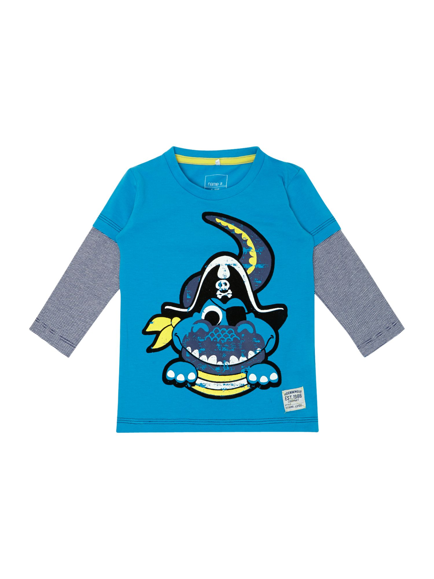 Boys pirate croc t-shirt