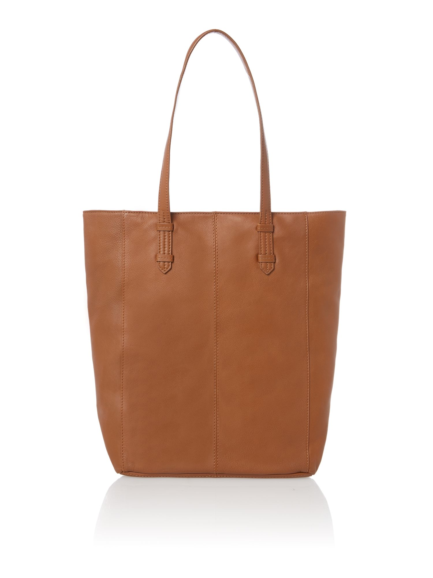 Sandy unlined tote handbag