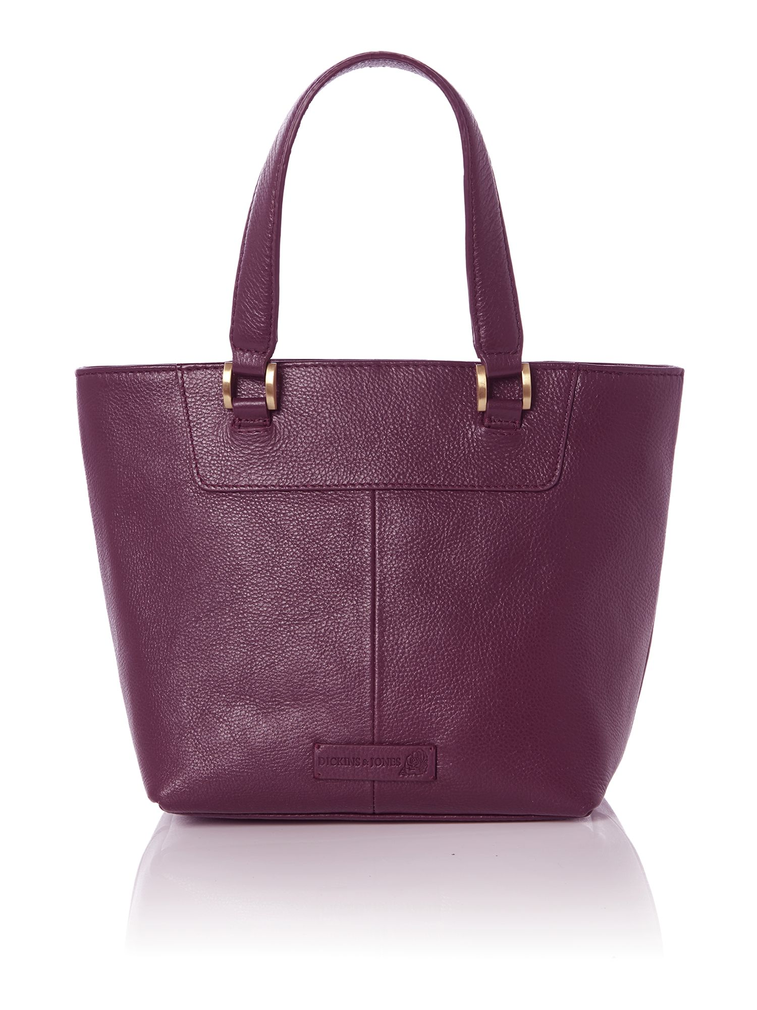 Mini boxy winged tote handbag