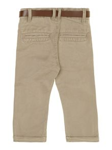 Boys classic chino trouser with belt