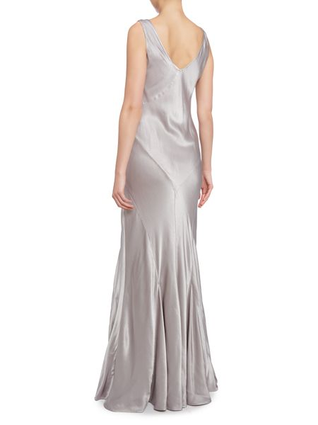 Ghost Nicole cowl gown