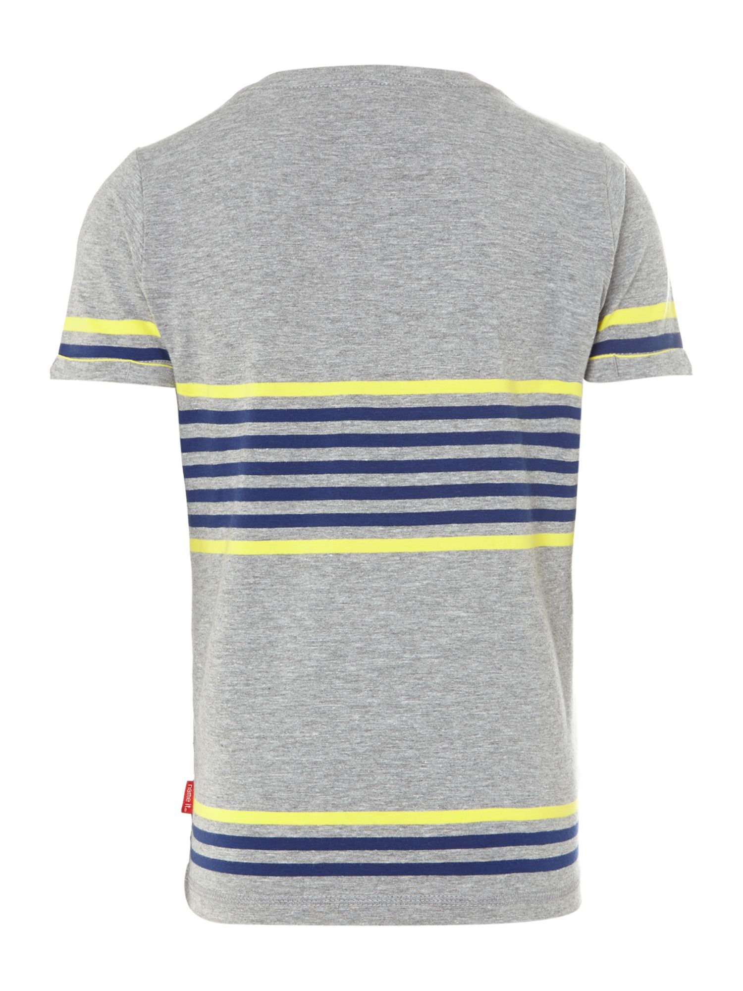 Boys contrast stripe t-shirt