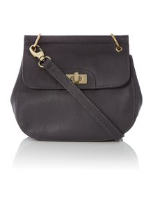 Mini frame x-body handbag