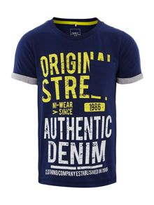 Boys authentic graphic t-shirt