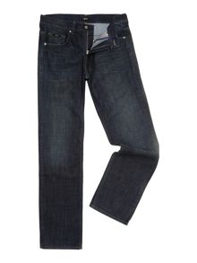Kansas soft vintage wash straight leg jean