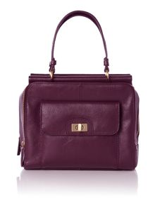 Mini triple frame handbag
