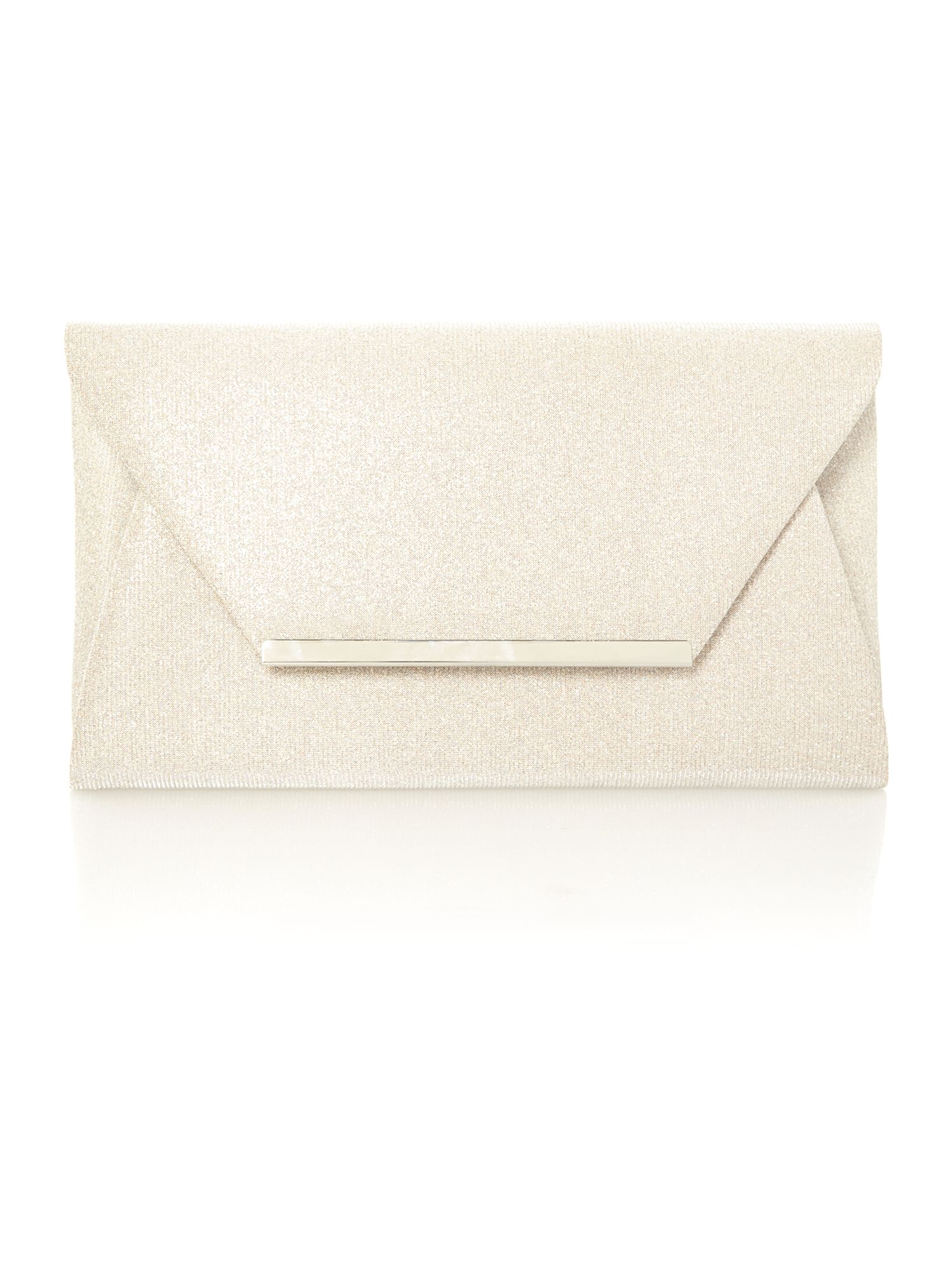Elias envelope clutch bag