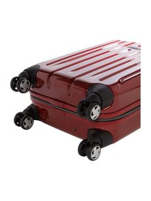 Movelite red 4 wheel hard cabin spinner