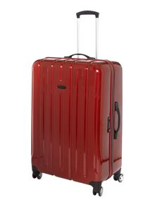 Linea Movelite red 4 wheel hard large case