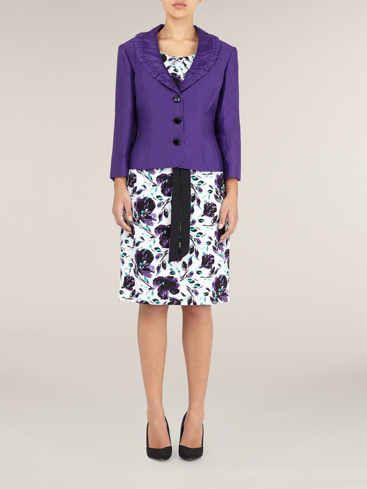 Purple Crinkle Jacket