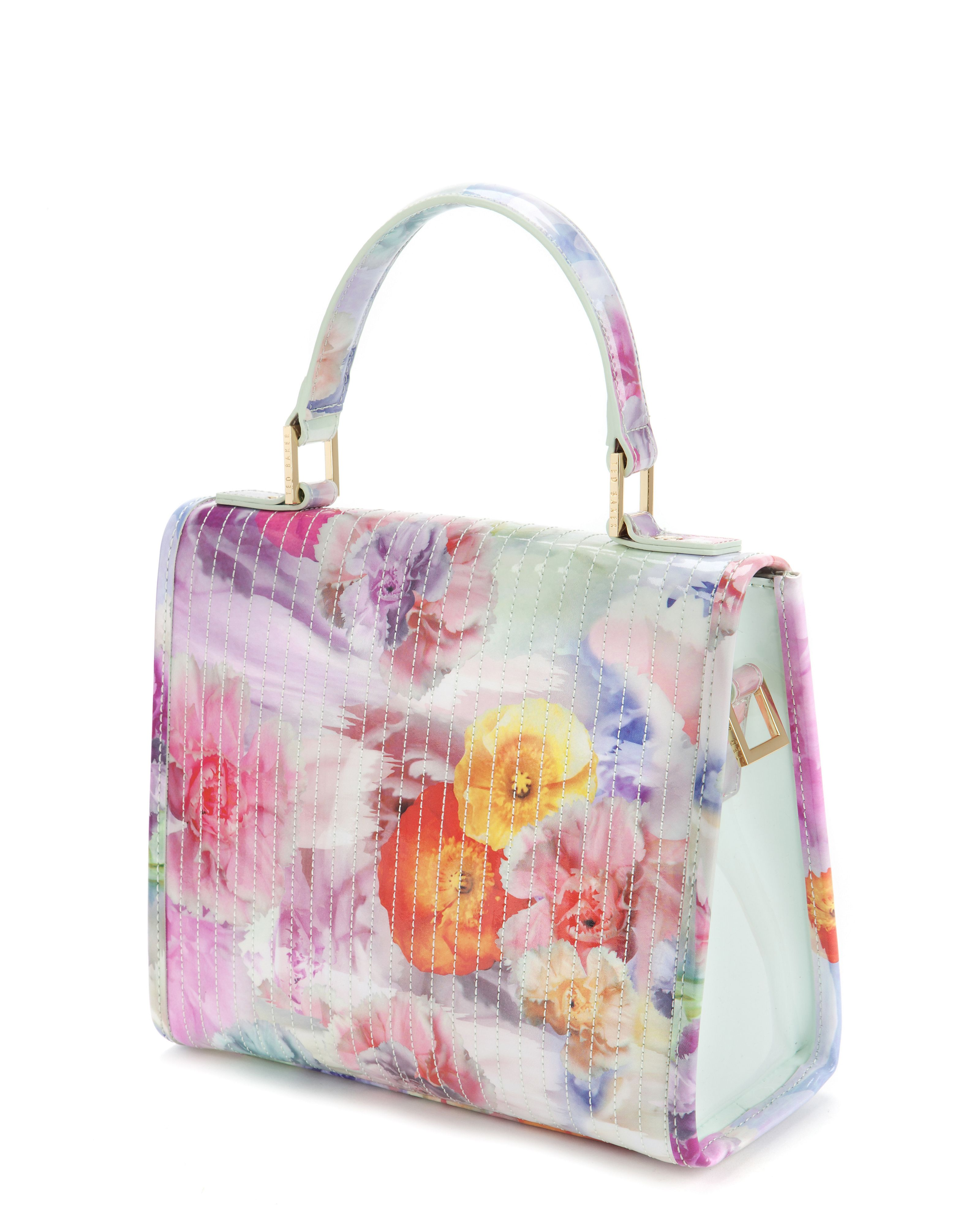 Davena floral printed cross body bag