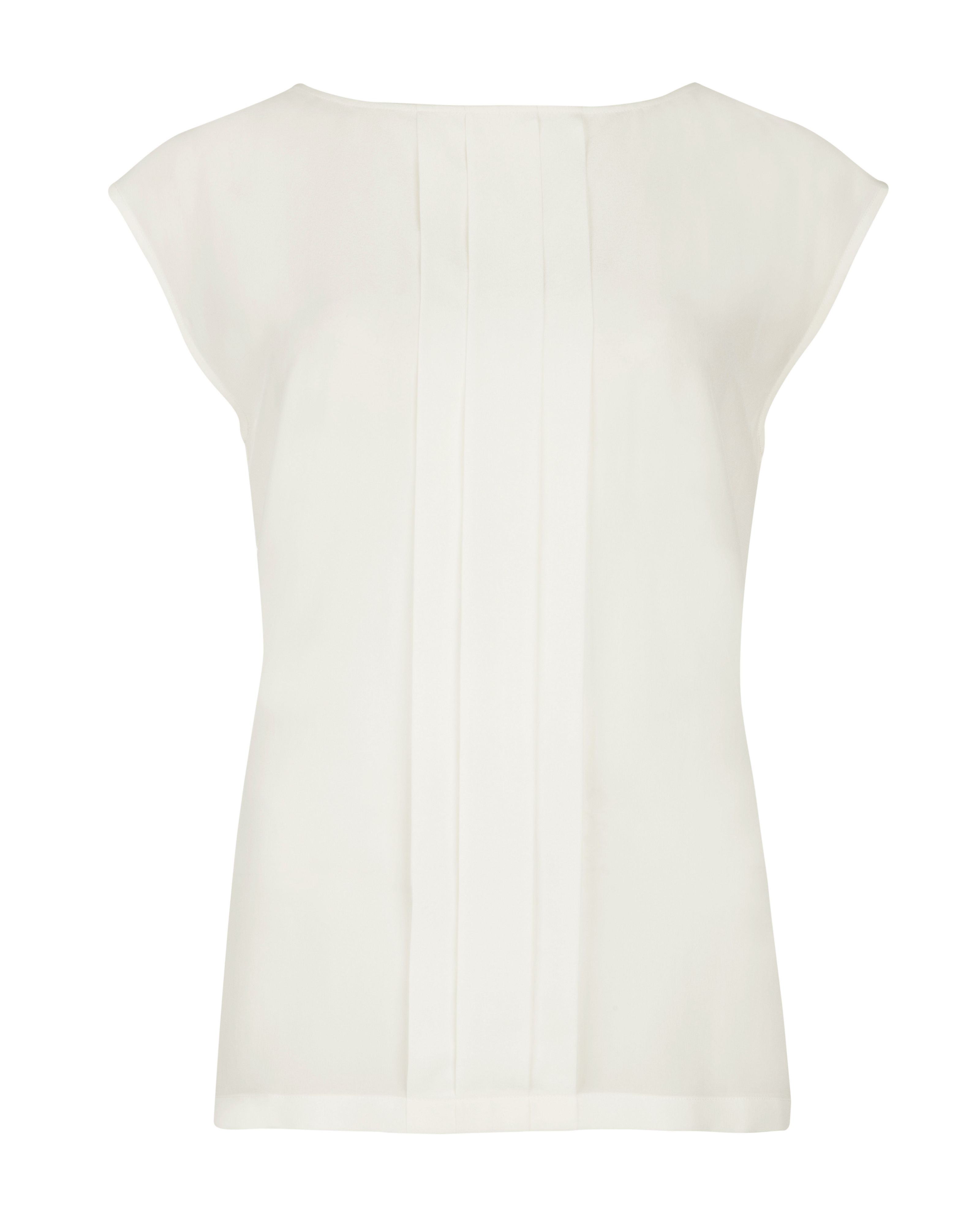 Violla pleated panel top