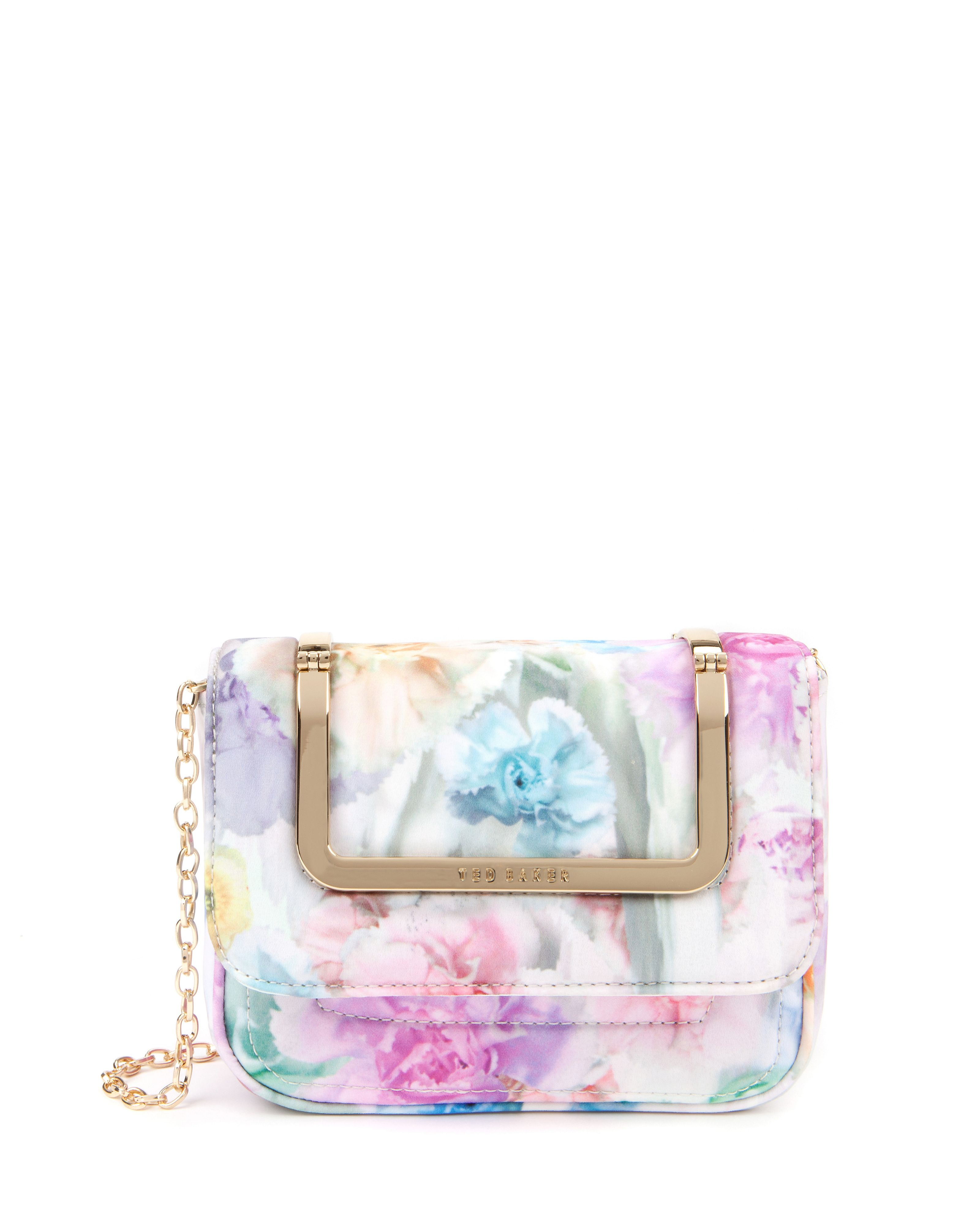 Sweeta sugar sweet printed clutch bag