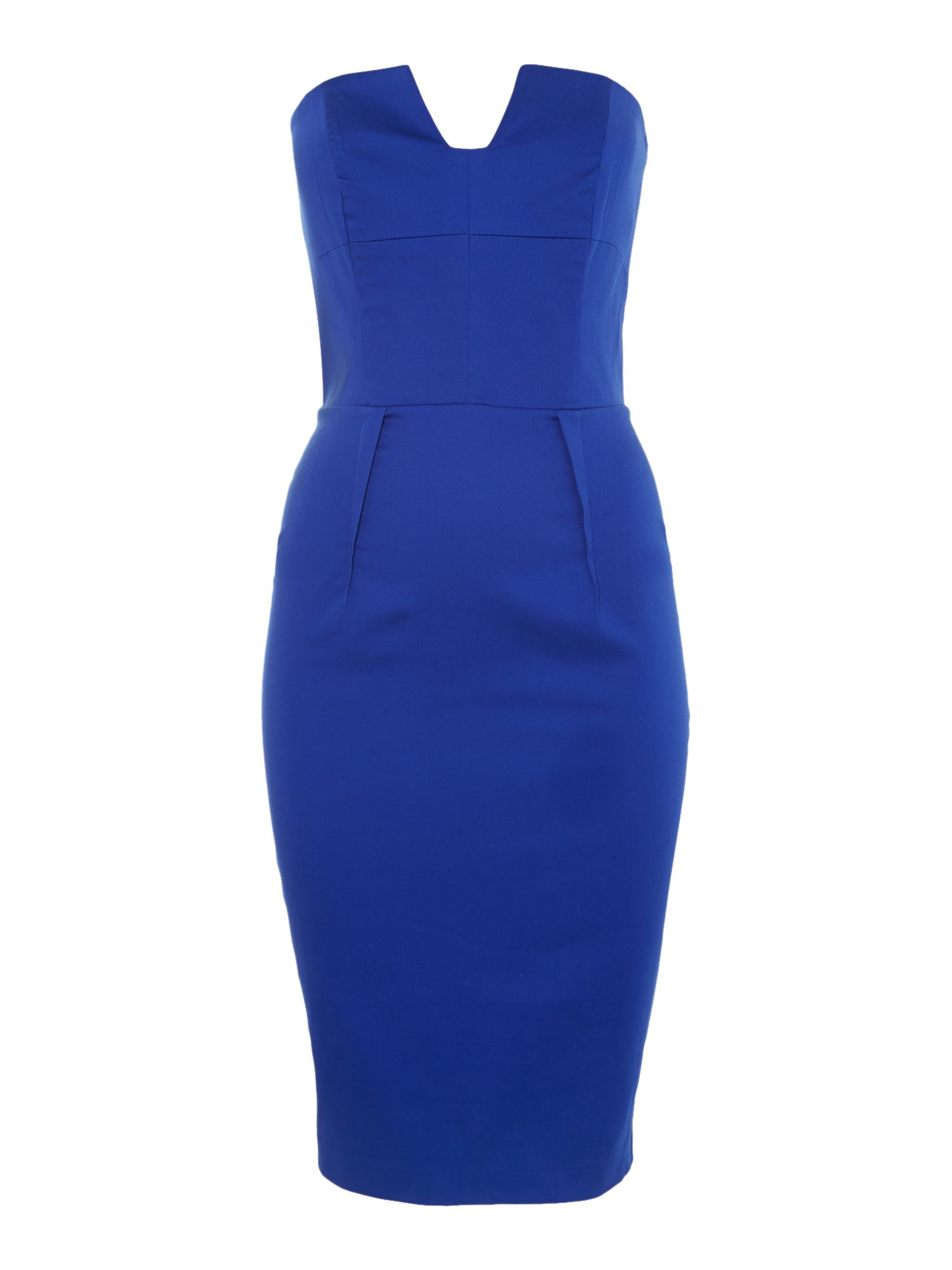 Kardashian Kollection strapless bodycon dress