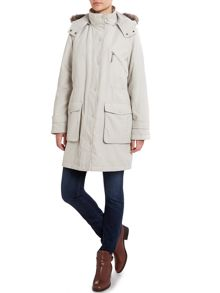 Wadded Parka Jacket