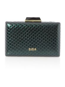 Fashion box clutch