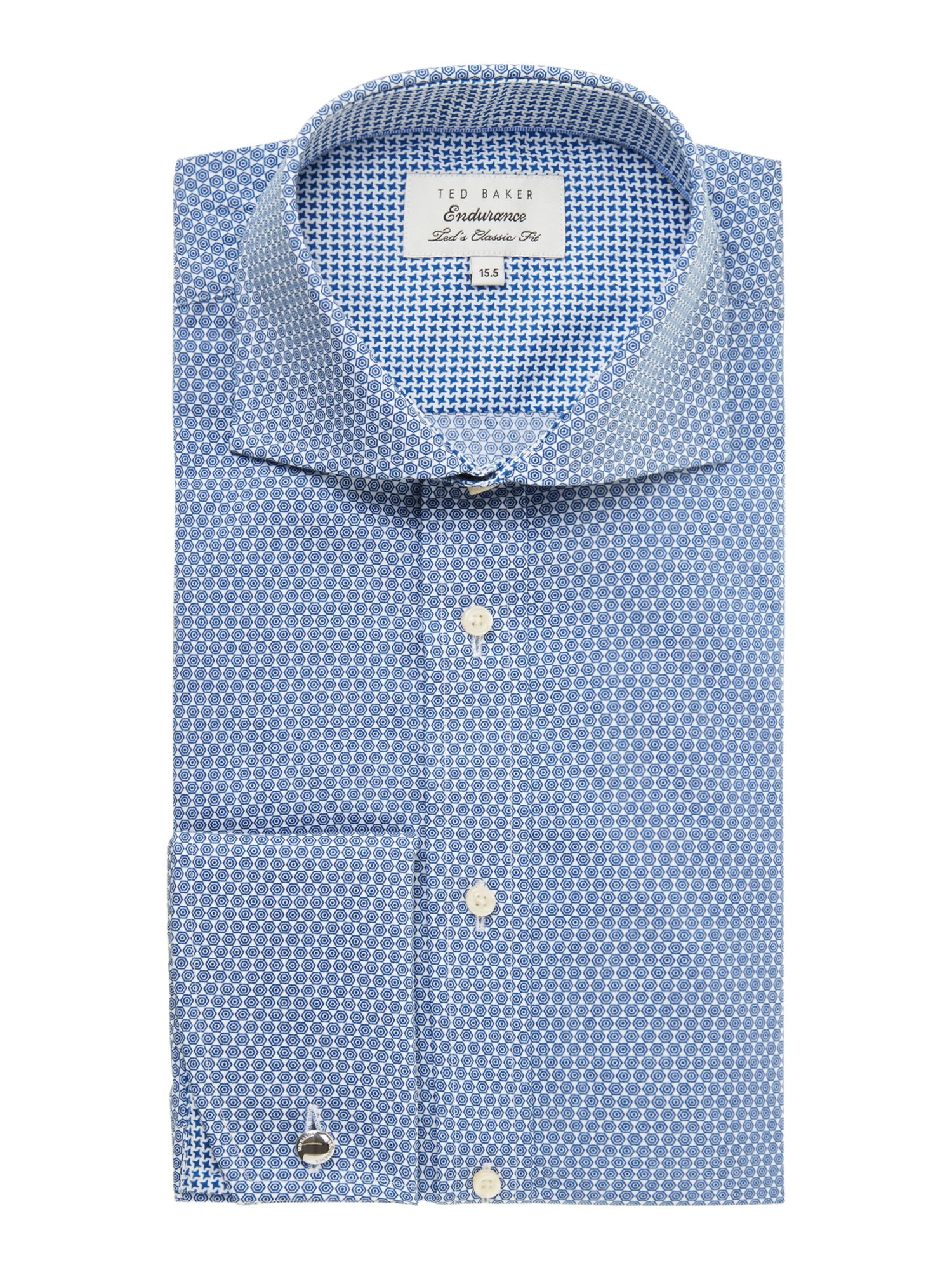 Chenies regular fit mini geometric shirt