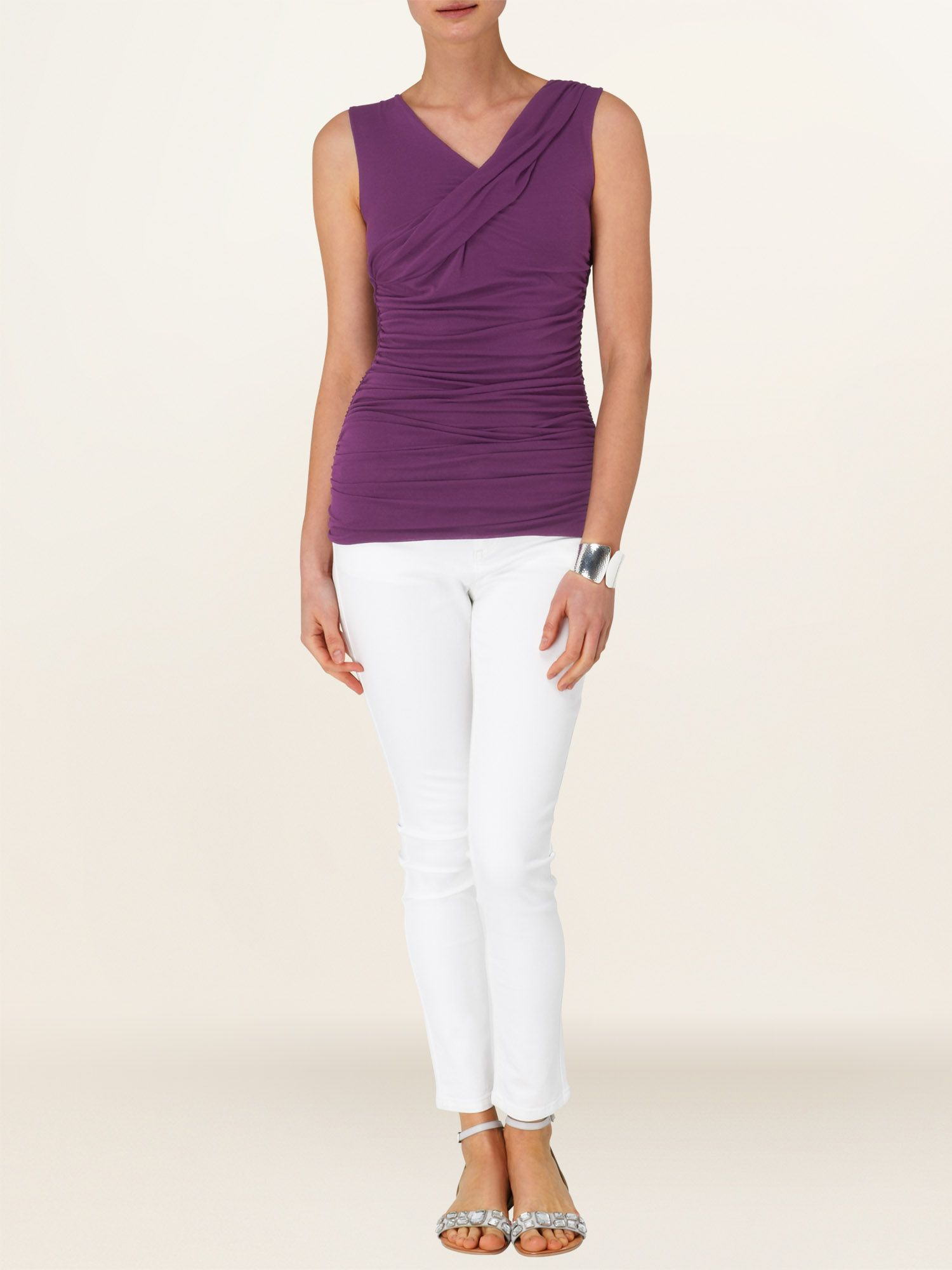 Tillie sleeveless top