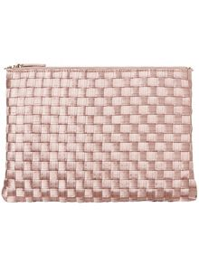 Annabel weave clutch