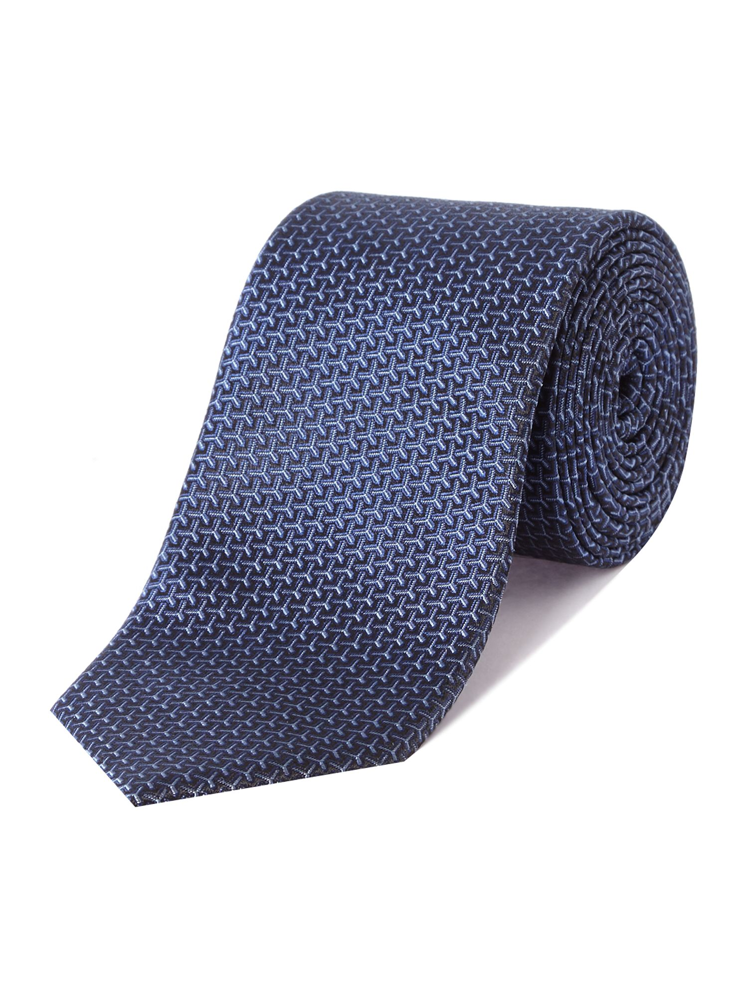 Textured regular tie