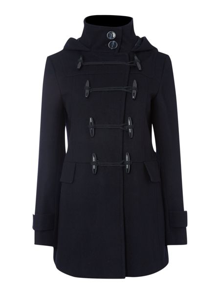 Therapy Hooded duffle coat