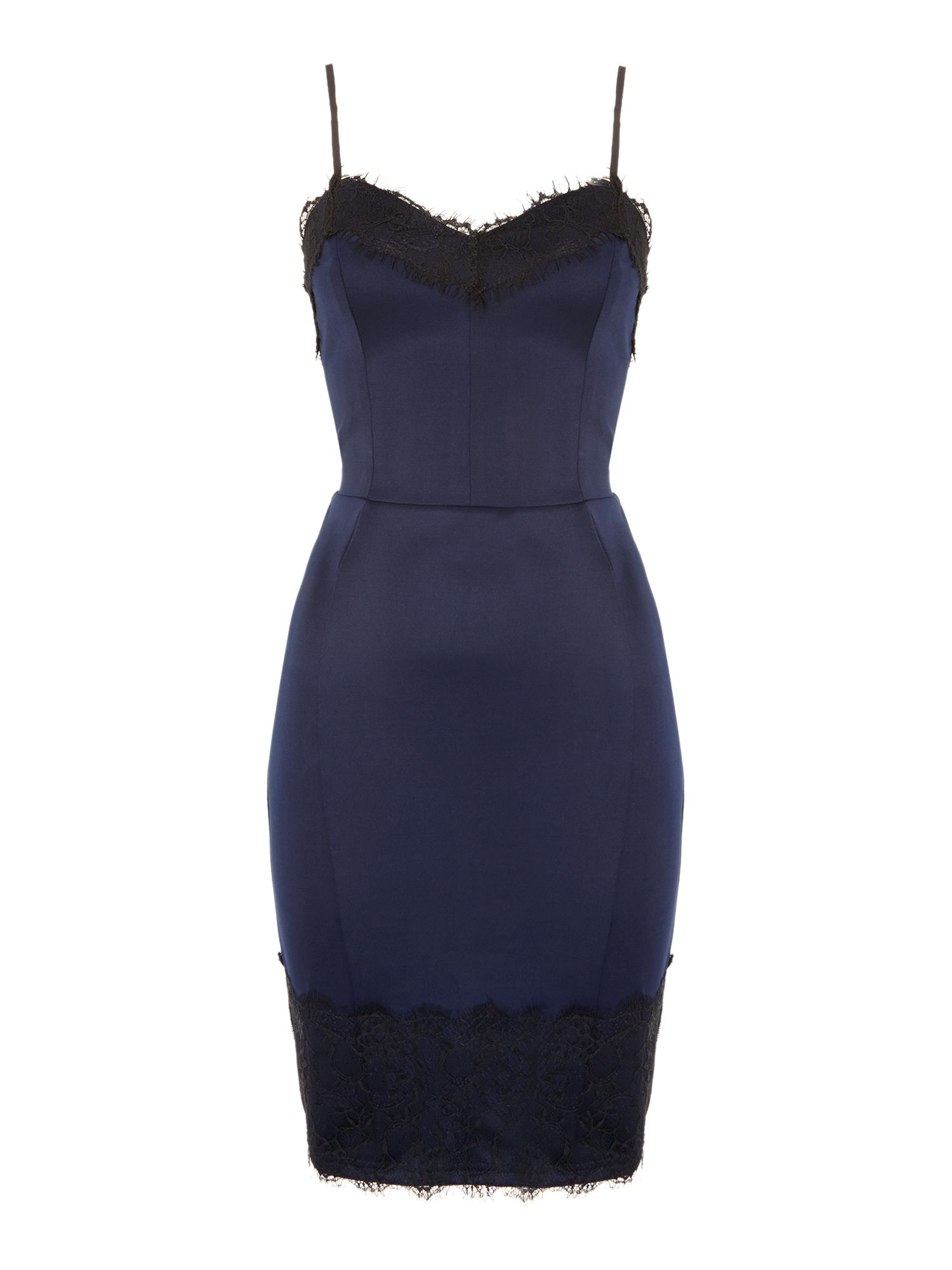 Kardashian Kollection Cami detail bodycon dress