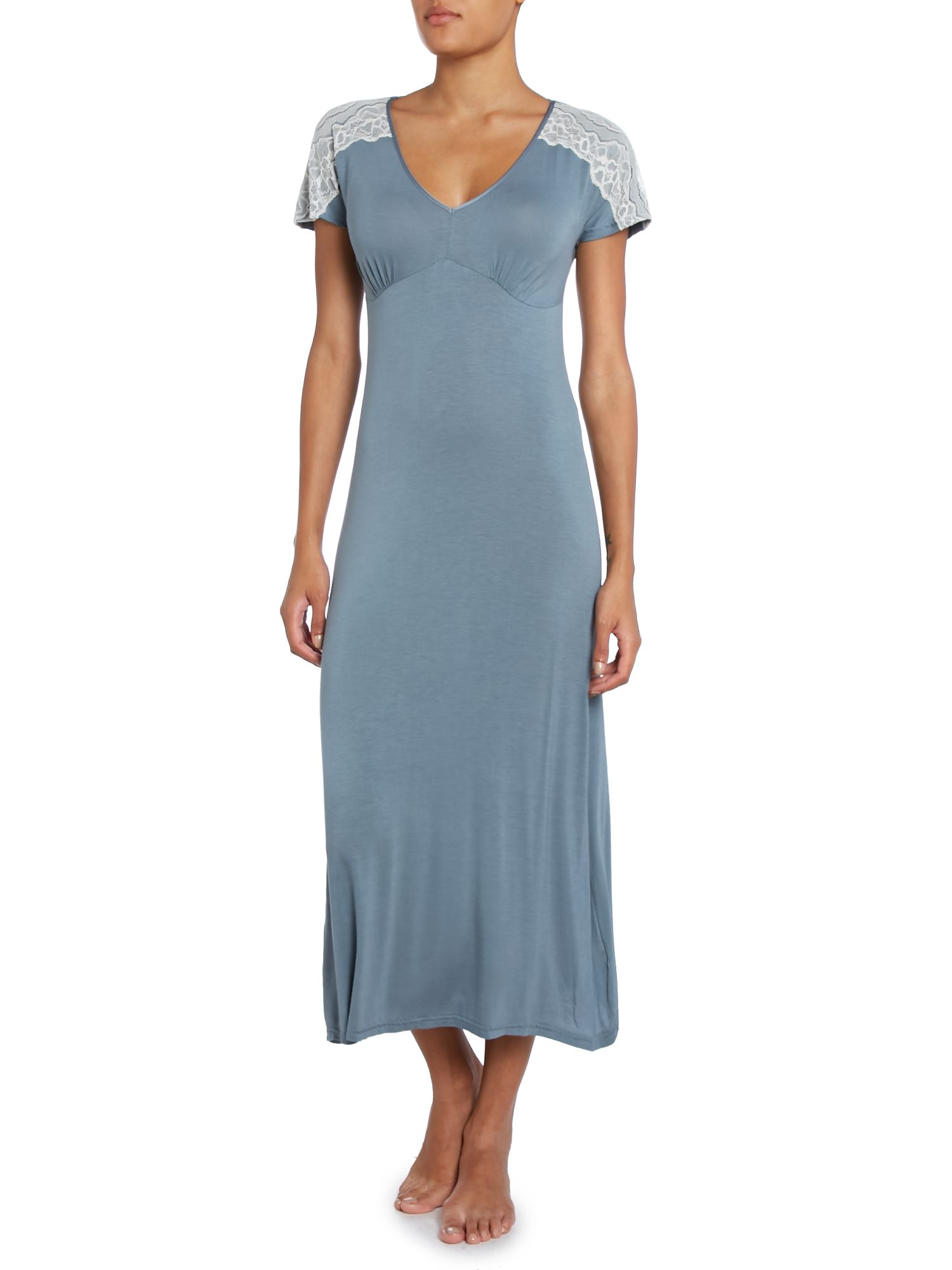 Plain jersey nightdress