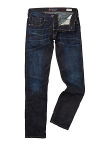 Anbass denimzero barça project slim fit trousers