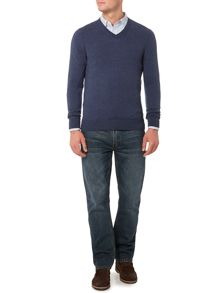 Howick Arlington V-Neck 100% Lambswool Jumper
