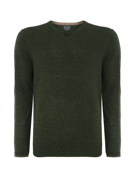 Arlington V-Neck 100% Lambswool Jumper
