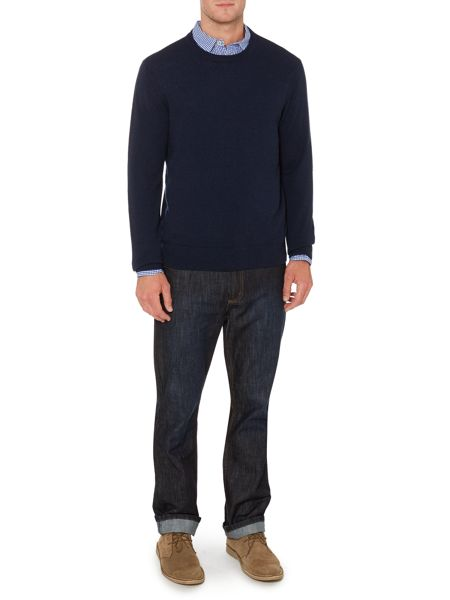 Arlington Crew Neck 100% Lambswool Jumper