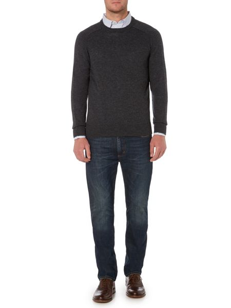 Howick Arlington Crew Neck 100% Lambswool Jumper