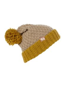 Lambeth pompom knitted hat