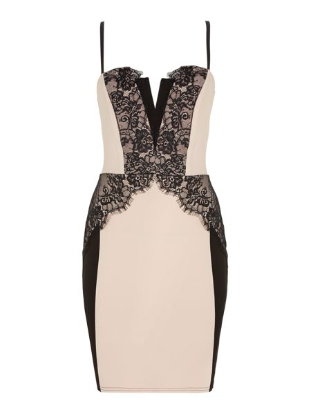 Lipsy Lace detail bodycon dresses