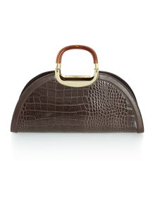 Annabelle dome grab handbag
