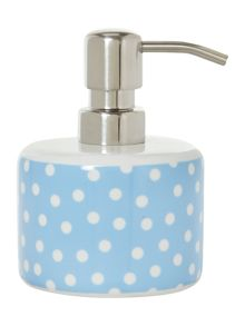 Dickins & Jones Polka ceramic soap dispenser
