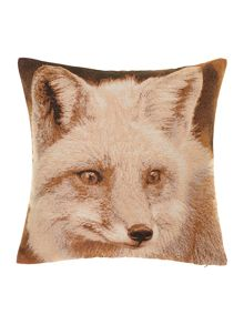 Fox jacquard cushion
