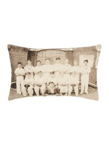 Cricket team oblong cushion