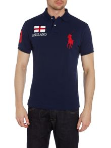 Ralph Lauren Brazil themed polo shirt ENGLAND