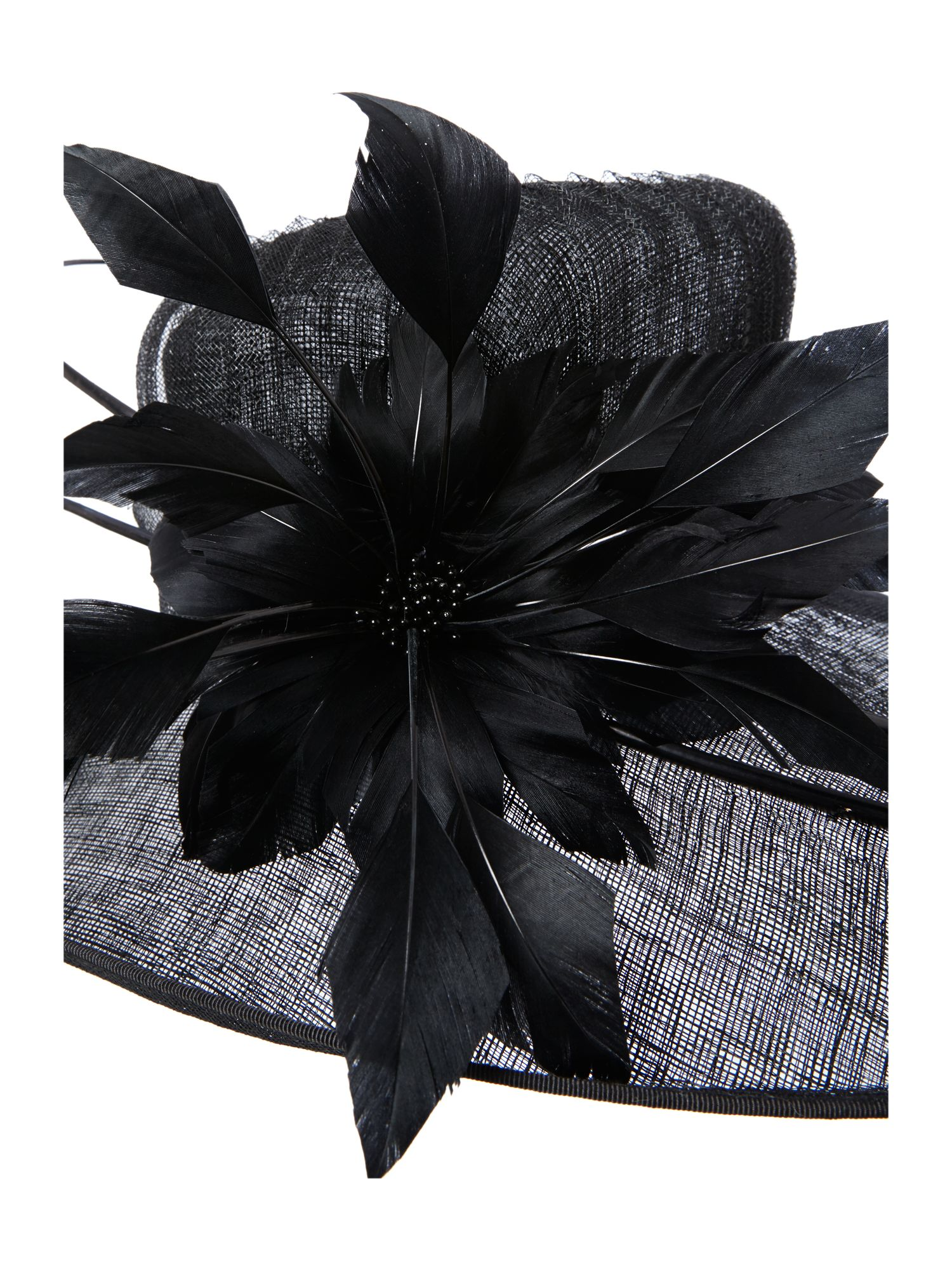 Pleated crinolin hat
