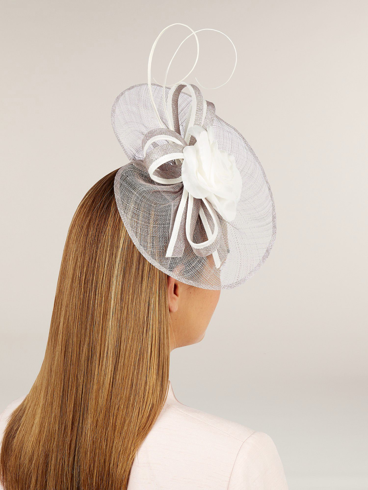 Flower Trim Fascinator