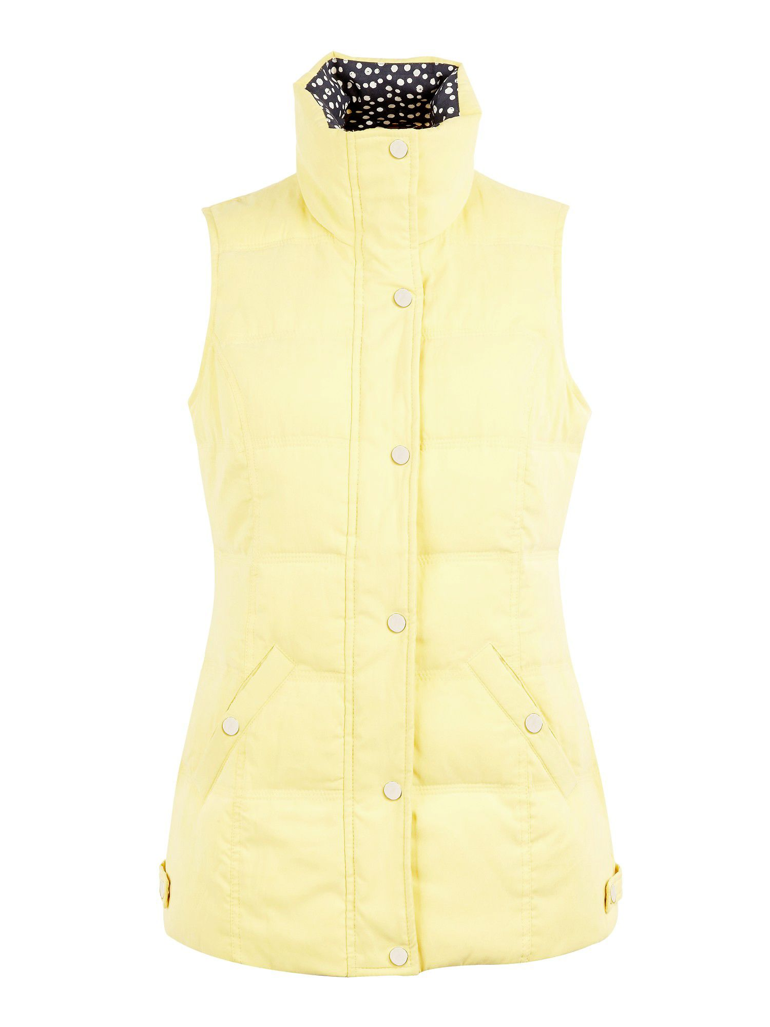 Quilted Yellow Gilet
