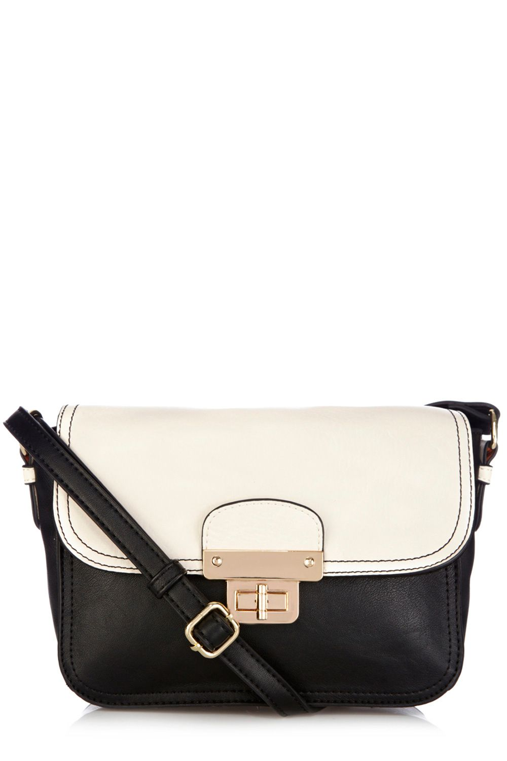 Xandy colour block cross body bag