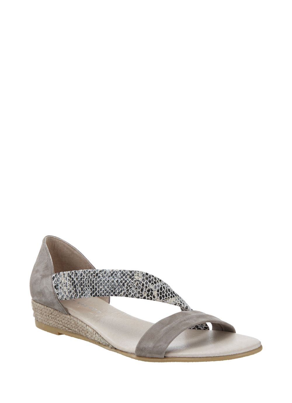 Ella snake wedge