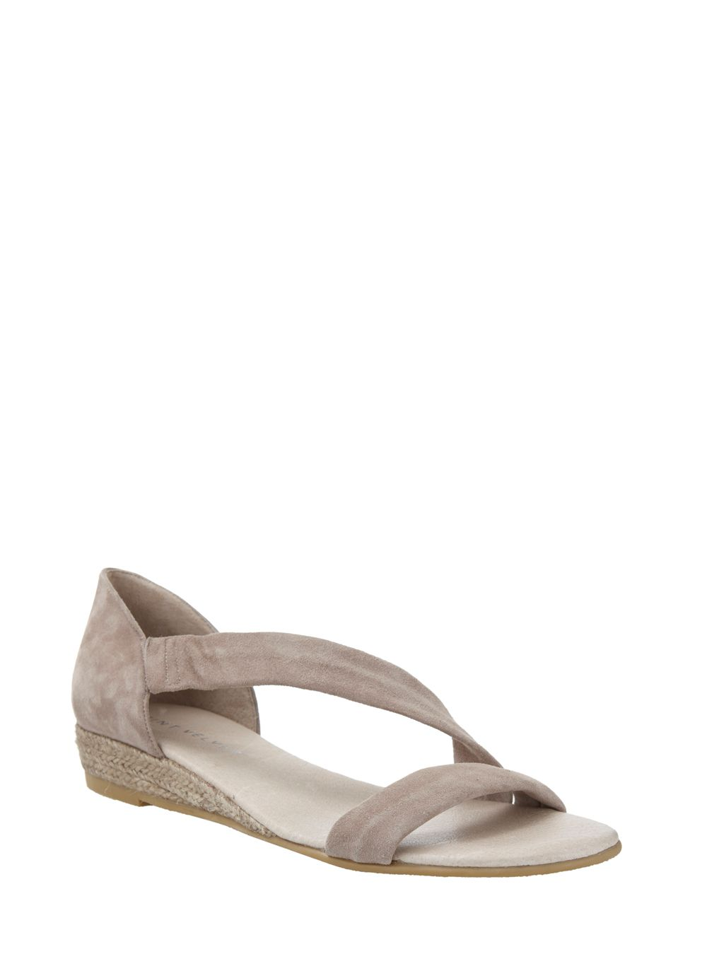 Mink ella low wedge