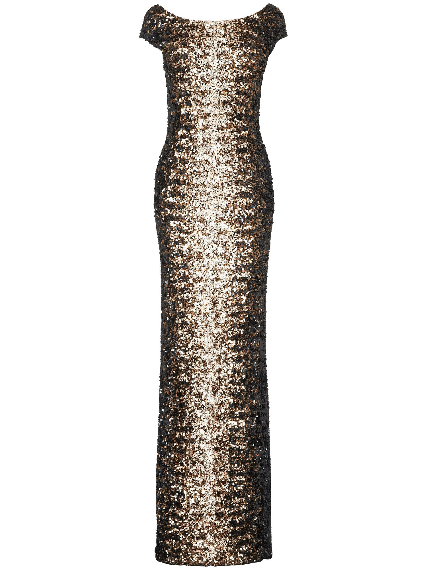 Daria embellished full length dress