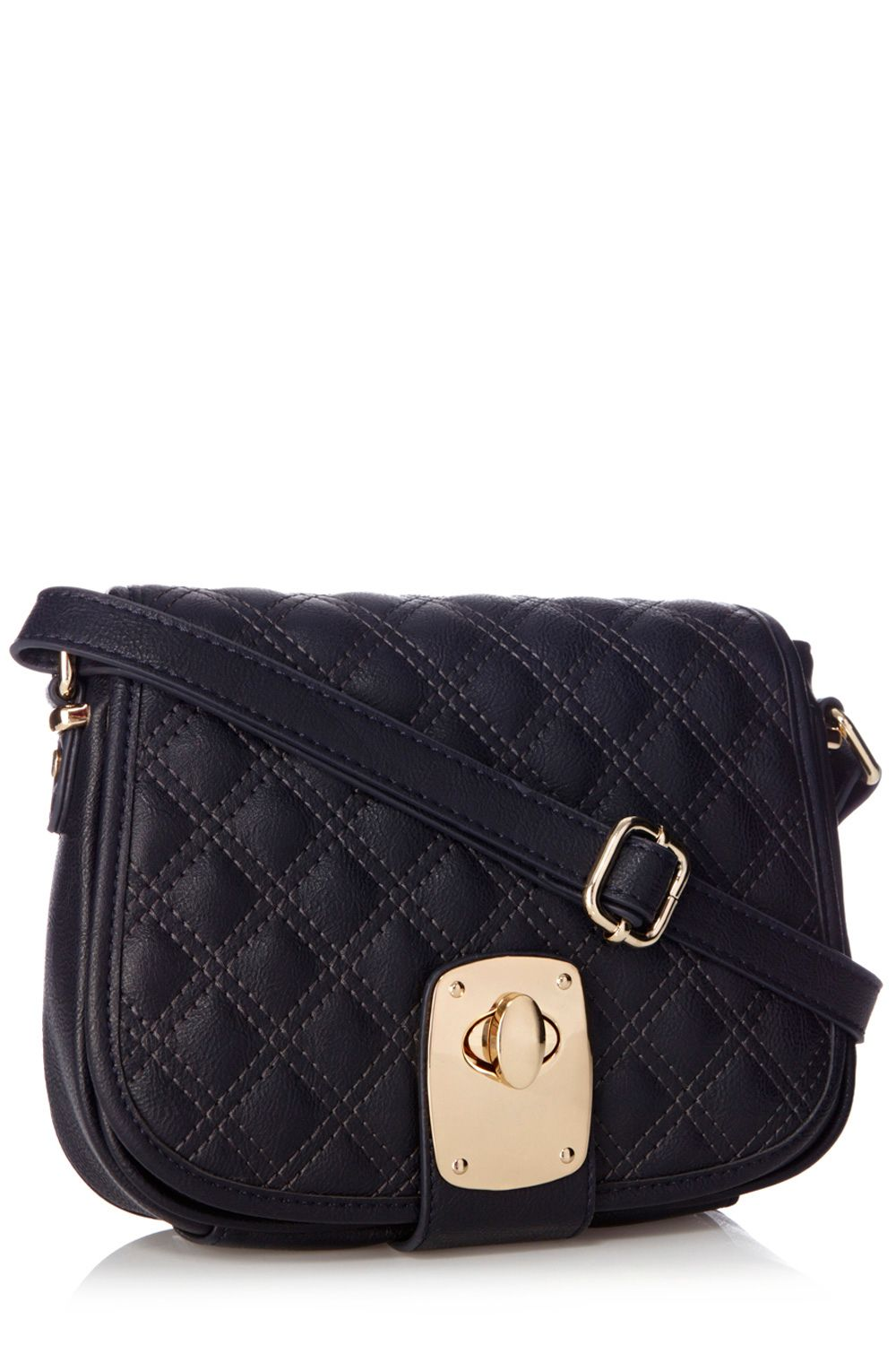 Chelsie quilted saddle bag